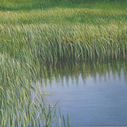 2 Aquatic 46x55cm acrylique sur toile