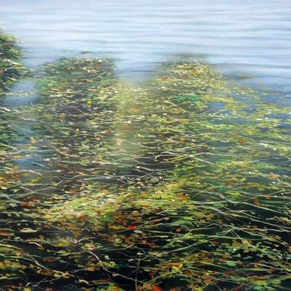 Aquatico n°16 60x92cm acrylique s/toile