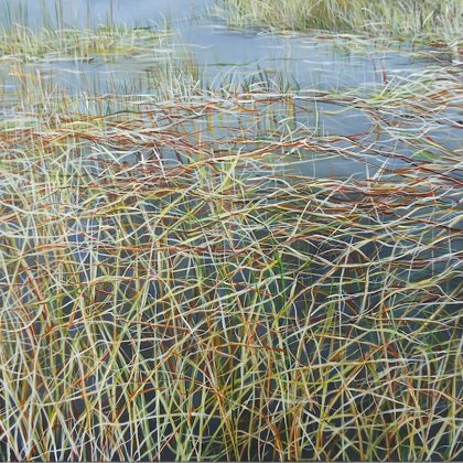 Everglades III 60x92cm acrylic on canvas