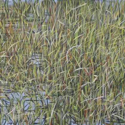 Everglades II 60x120cm acrylic on canvas