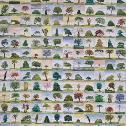 200 arboles 2010 89x130cm