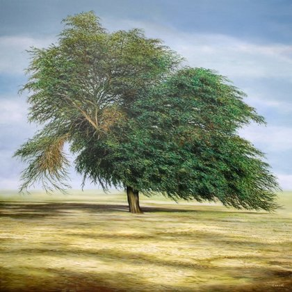 QATAR'S TREE 150x150cm