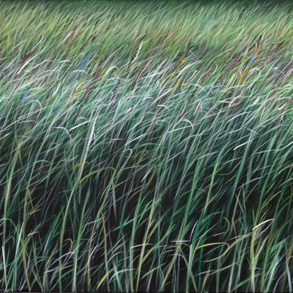 Purple Grass 50x100cm