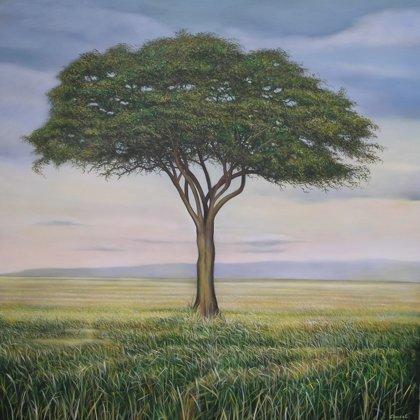 African tree 150x150cm