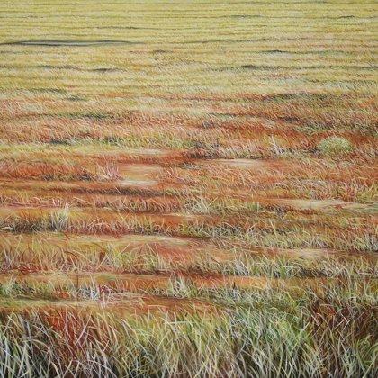 Herbes rouges (Patagonie) 115x145cm.Av. Montaigne, ParisJPG